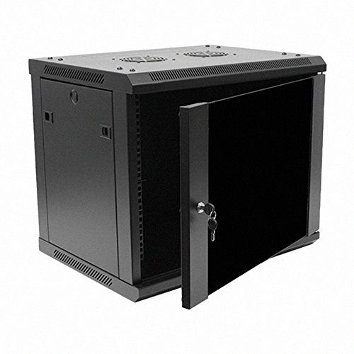 Navepoint 9U Deluxe IT Wallmount Cabinet Enclosure 19-Inch Server
