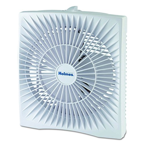 Holmes Dual Blade Twin Window Fan, White – Computerry