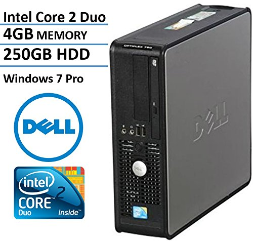 Dell Optiplex 780 SFF Desktop Business Computer PC Intel