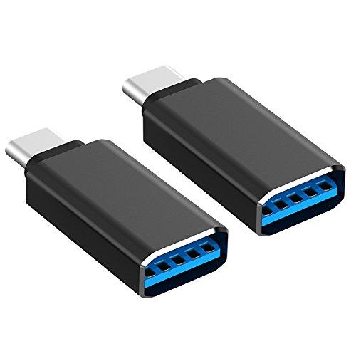 aPrime USB-C to Mini-B Metallic External CD DVD RW SuperDrive for