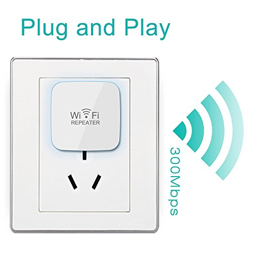 GALAWAY 300Mbps Wireless-N WiFi Long Range Extender With 360 Degree