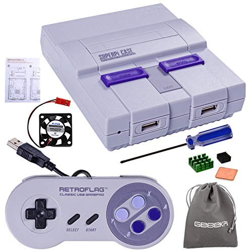 Retroflag SUPERPi Case with Wired Controller for Raspberry